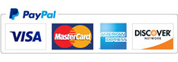 Securely Pay Here Using Your Credit Card by PayPal